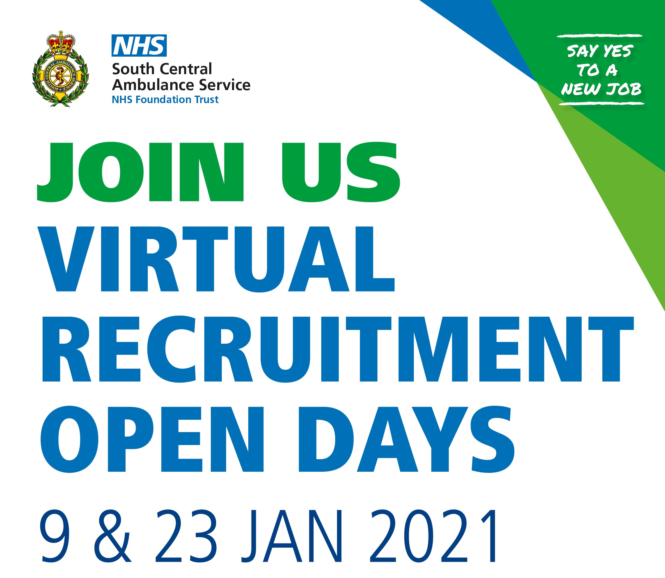 Virtual Recruitment Open Days